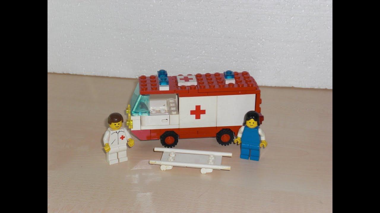 Lego 6688 Ambulance 1985 Vintage Time Lap Build And