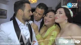 الممثلة منال عبد القوي تفسد زواج الاعلامي نبيل بن عمر