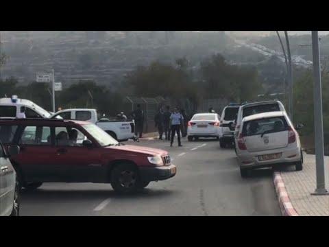 Raw: Palestinian Kills 3 Israelis Near Jerusalem