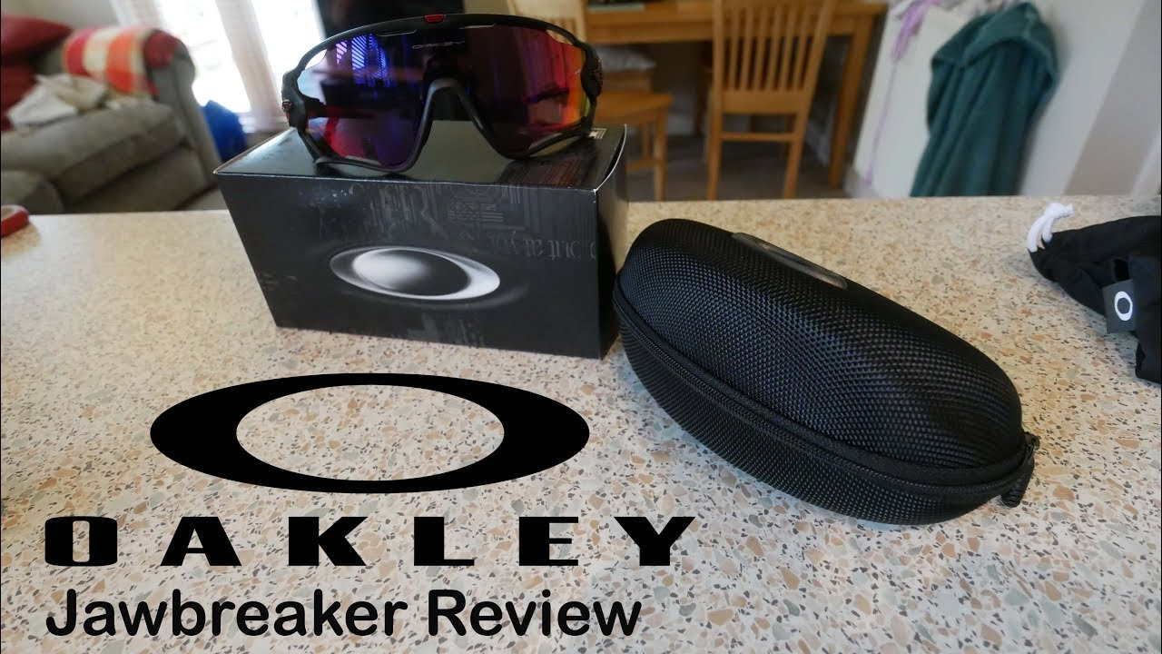 cbc39a6046 OAKLEY Jawbreaker UNBOXING and REVIEW - YouTube
