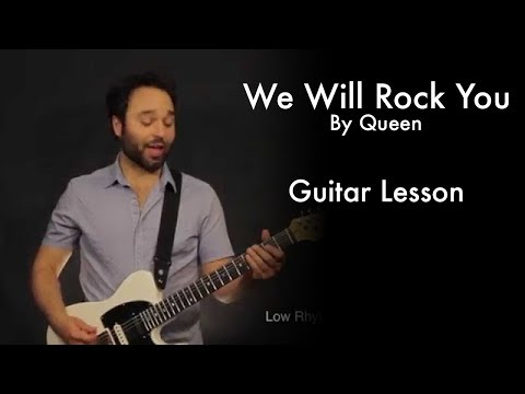 We Will Rock You by Queen Tutorial