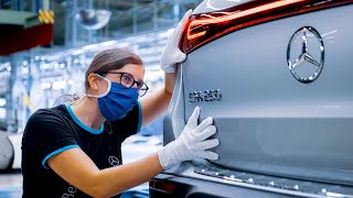 Mercedes-Benz EQA (2021) PRODUCTION - German Electric Car Factory