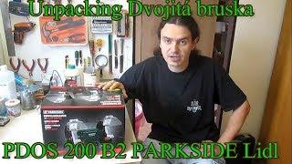 Unboxing Dvojitá bruska PDOS 200 B2 PARKSIDE z Lidlu