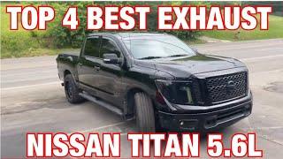 top 4 best exhaust set ups for nissan titan 5 6l v8