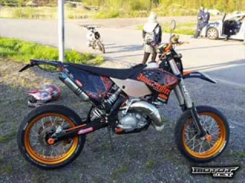 KTM 125 tuning from finland 2 - YouTube