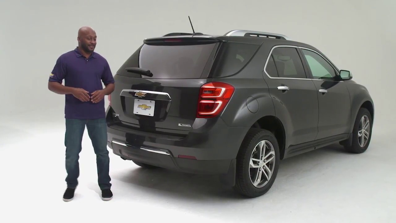 2018 Chevrolet Equinox - Hands-free Power Liftgate - YouTube