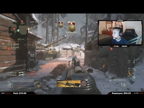 FaZe Censor's First Time Playing FaZe Clan - FINALS