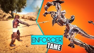 The Absolute BEST Way to Tame an Enforcer | Ark Extinction Gameplay | LoveDuels E5