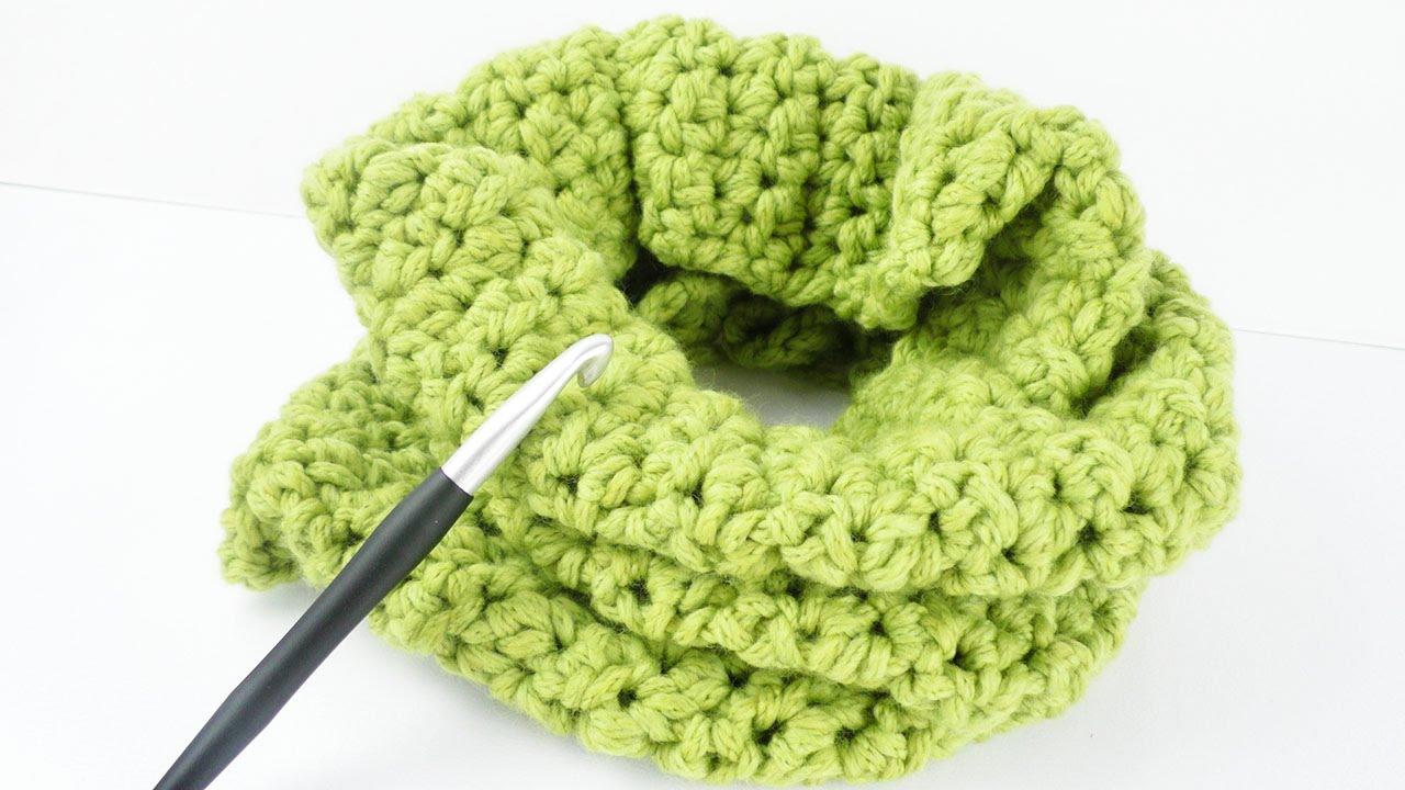 Loop Schal Für Den Herbst Tolles Muster Aus Festen Maschen