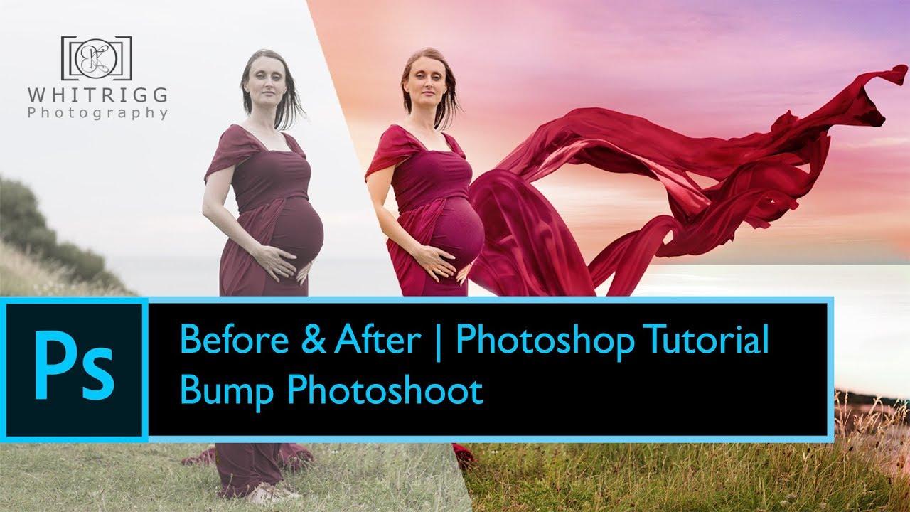 Photoshop - Fine Art Maternity Photo shoot