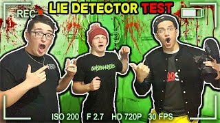 LIE DETECTOR TEST Challenge! (With UnspeakableGaming & 09SharkBoy)