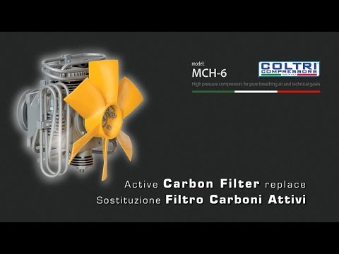 MCH-6 COLTRI COMPRESSORS - Active Carbon Filter Replace