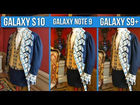 Galaxy S10 Vs Note 9 Vs S9 Plus - S10  NIE Robi NAJLEPSZYCH ZDJĘĆ? 📸[PORÓWNANIE] / Mobileo [PL]
