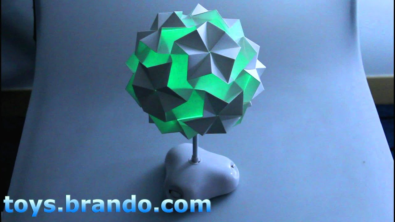 Origami - Paper Folding Mysterious Desk Lamp - YouTube - photo#28