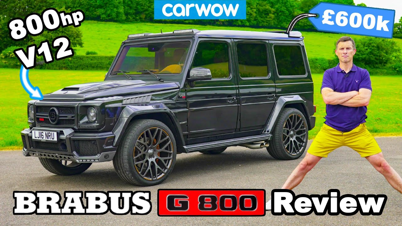 Download Brabus G800 review: 800hp V12 review + 0-60mph test!