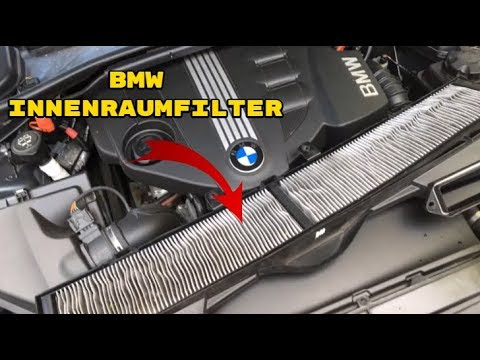 bmw e90 e91 e92 innenraumfilter wechsel youtube. Black Bedroom Furniture Sets. Home Design Ideas
