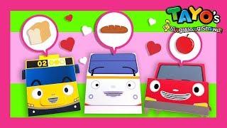 Tayo lieder Sie sehen sich ähnlich l Tayo Lieder mit Spielzeug l Tayo Der Kleine Bus