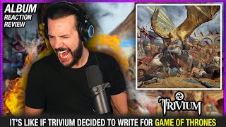 """Trivium """"The Shadow Of The Abattior"""" - """"In The Court Of The Dragon"""" ALBUM REACTION / REVIEW"""