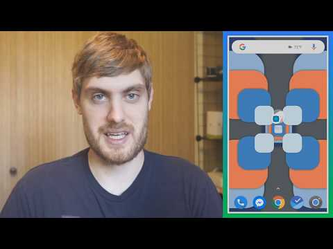 Chrooma Float makes Material Design into a live wallpaper