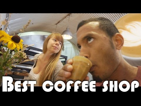 EAST LONDON'S BEST COFFEE SHOP CAFE - UK DAILY VLOG (ADITL EP385)