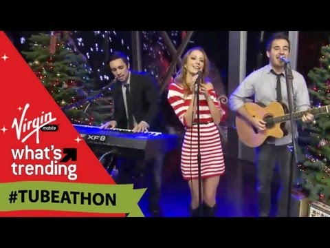 "Chester See, Taryn Southern and Andy Lange Perform ""Your Kiss"" LIVE at #Tubeathon"
