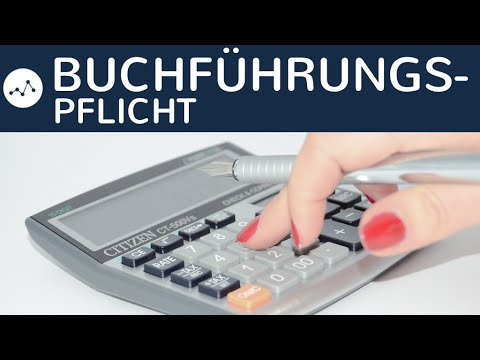 Buchführungspflicht nach HGB & AO - §238 + §241a Handelsgesetzbuch & §140 + §141 Abgabenordung