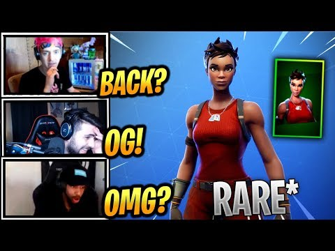 STREAMERS REACT *RARE* RENEGADE SKIN IS BACK! - Fortnite Epic & Funny Moments (Fortnite BR)