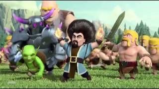 Clash Of Clans: Hair (Official TV Commercial) (Wizard Hair You And This Army Trailer)