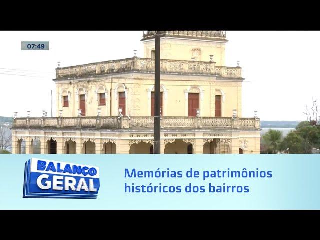Afundamento do solo: Memórias de patrimônios históricos dos bairros afetados