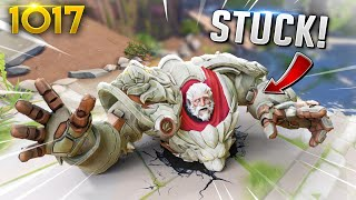 The STRANGEST Eichenwalde BUG EVER!!  | Overwatch Daily Moments Ep.1017 (Funny and Random Moments)