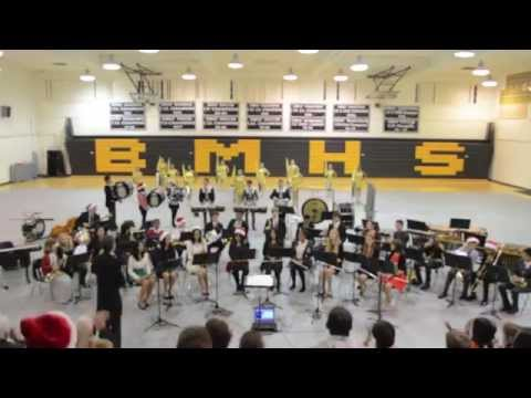 Bishop Montgomery High School Christmas Concert 2014 Part 2