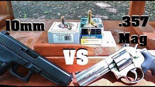 10mm VS .357 Magnum 💥ULTIMATE💥 Test!