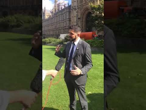 Jordan Wylie Interview With British Media Outside Parliament On The Chennai 6 Case