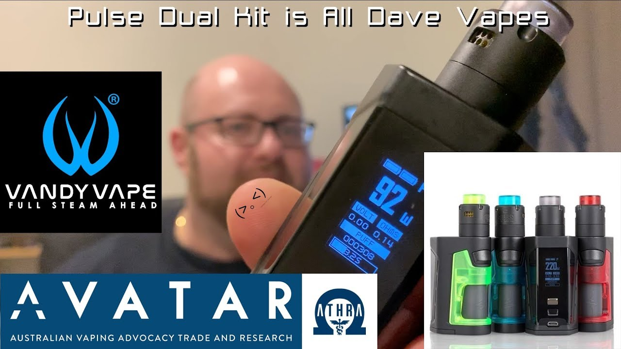Pulse Dual Kit is All Dave Vapes | I genuinely enjoyed using the RDA!