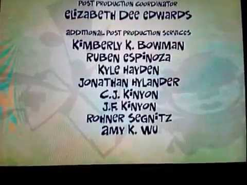 Fanboy and Chum Chum credits