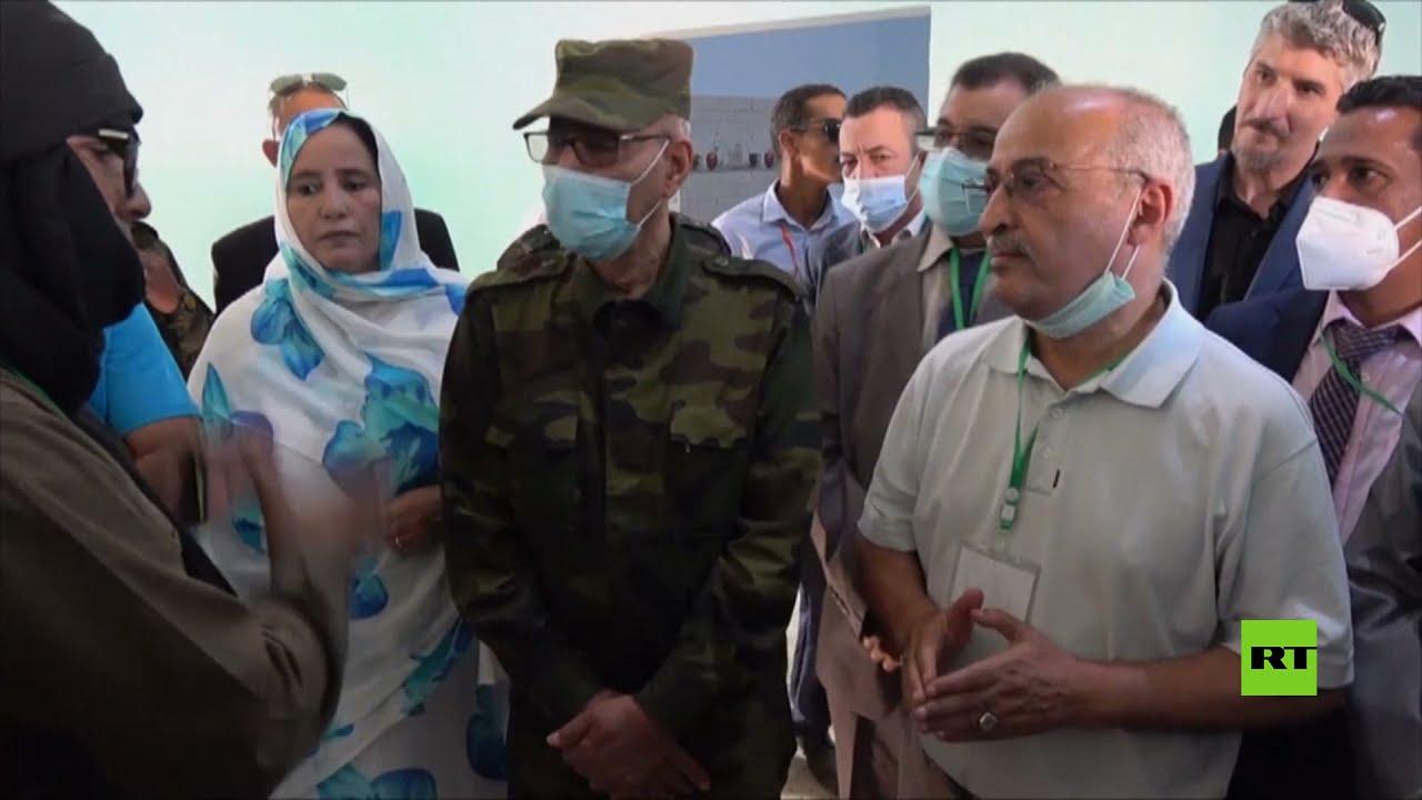 زعيم جبهة البوليساريو يزور مخيم دجلة  - 18:54-2021 / 10 / 13