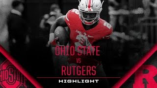 Ohio State Football: Rutgers Highlight