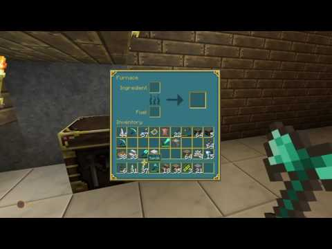 Minecraft Ps4 edition: Mining (making a library)