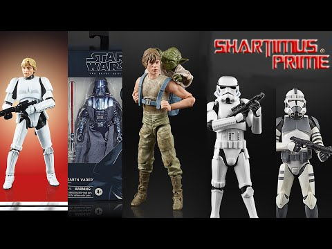 "STAR WARS Figures 6"" Black Series Many to choose from Boba Luke Trooper Han"