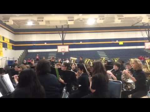 McMath middle school fall concert beginner & cub 1