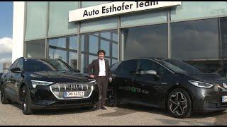 E Mobilität im Autohaus Esthofer