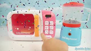 paw patrol microwave blender just like home kitchen toy surprise eggs for baby toddlers preschool