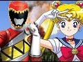 Sailor Moon(Power Rangers Dino Charge Style)
