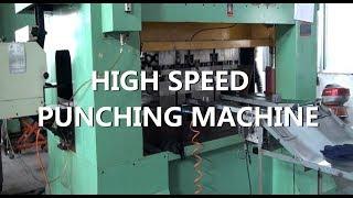 High Speed Punching Machine Pressed Motor Rotor Stator