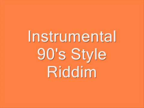 Instrumental (90's Style Riddim)