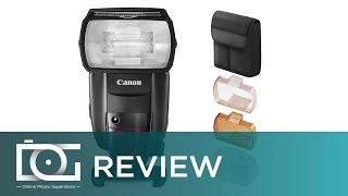 Canon Flash: Canon Speedlite 600EX II-RT | HSS 1st, 2nd Curtain Sync | Canon Flash for DSLR | REVIEW