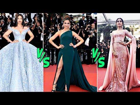CANNES Fashion War: Aishwarya Rai v/s Deepika Padukone v/s Sonam Kapoor