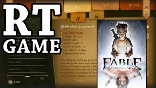 RTGame Archive:  Fable Anniversary [PART 2]