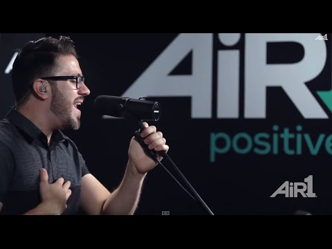 "Danny Gokey ""More Than You Think I Am"" LIVE at Air1"