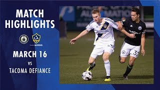 HIGHLIGHTS: Tacoma Defiance vs. LA Galaxy II | March 16, 2019